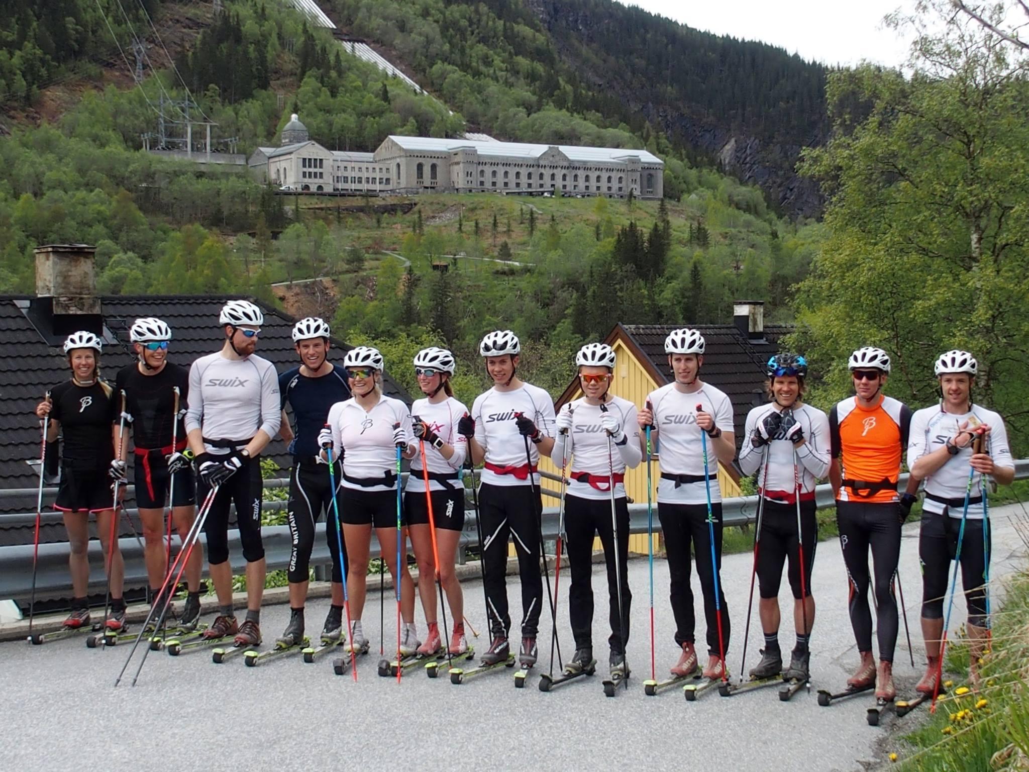 Team Telemark at Rjukan